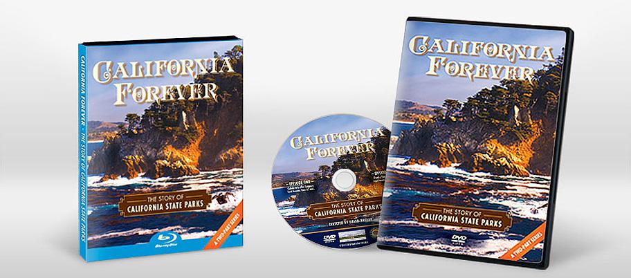 California Forever DVD & Blu-ray Packaging