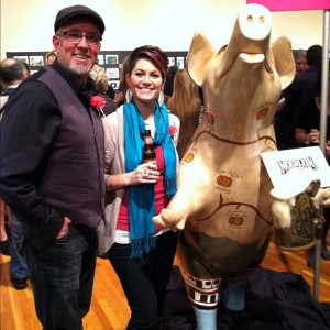 Secret Artworks Pig with Robin Ewers