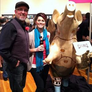 Secret Artworks Pig with Robin Ewers