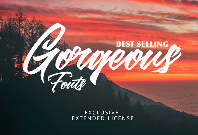 gorgeous font bundle