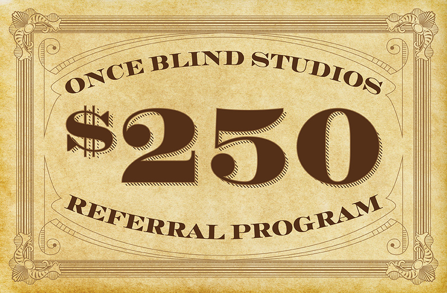 Once Blind Studios - Nashville Graphic Design
