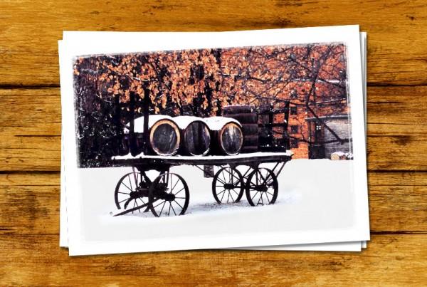 """Wagon"" Card (Barrel Series)"
