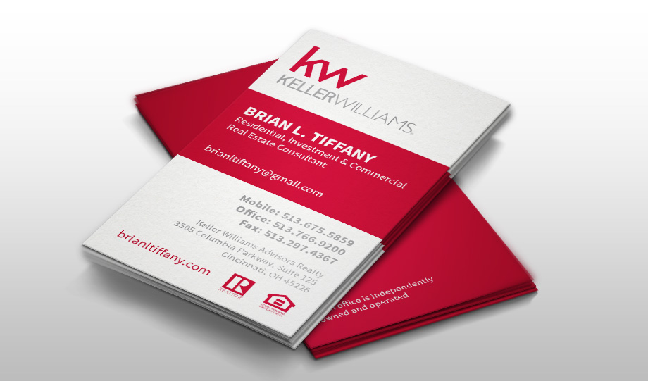 Brian L. Tifany & Co. Business Cards