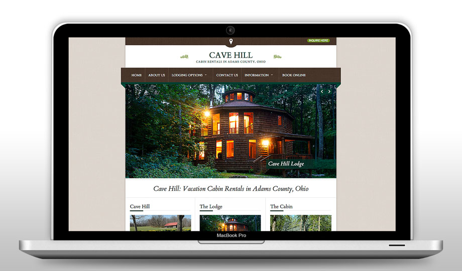 Cave Hill Cabins - Web Refresh