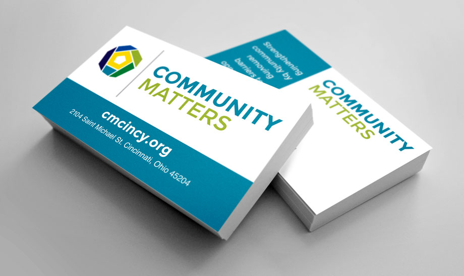 Community Matters Business Cards