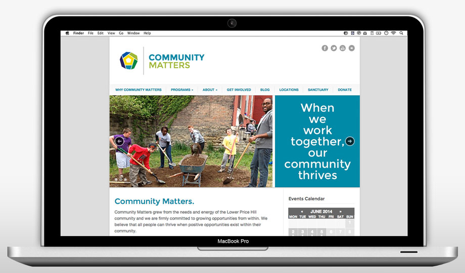 Community Matters Website Refresh