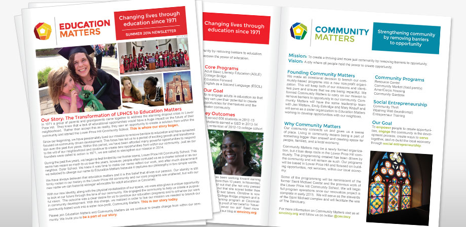Education Matters Newsletter