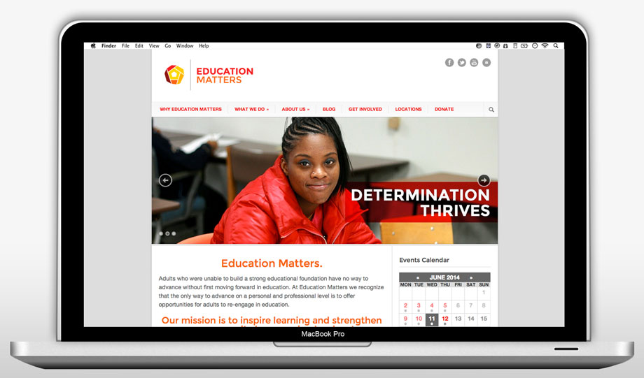 Education Matters Website Refresh