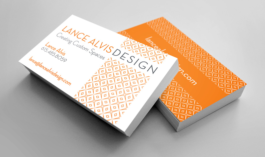 Lance Alvis Designs Business Cards