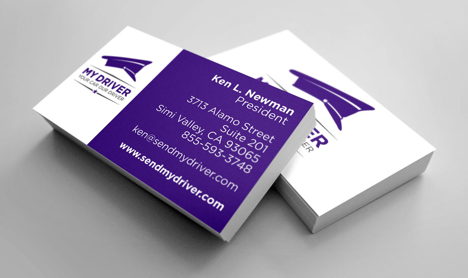 My Driver - Business Cards