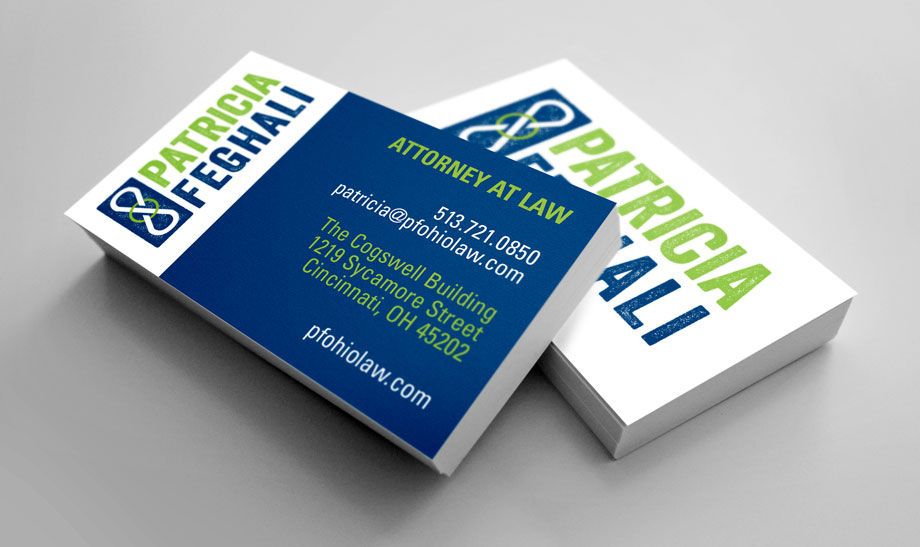 Pat Feghali Businees Cards