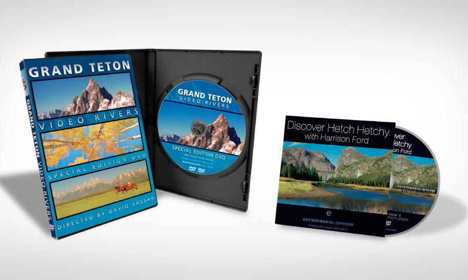DVD & Blu Ray Packaging