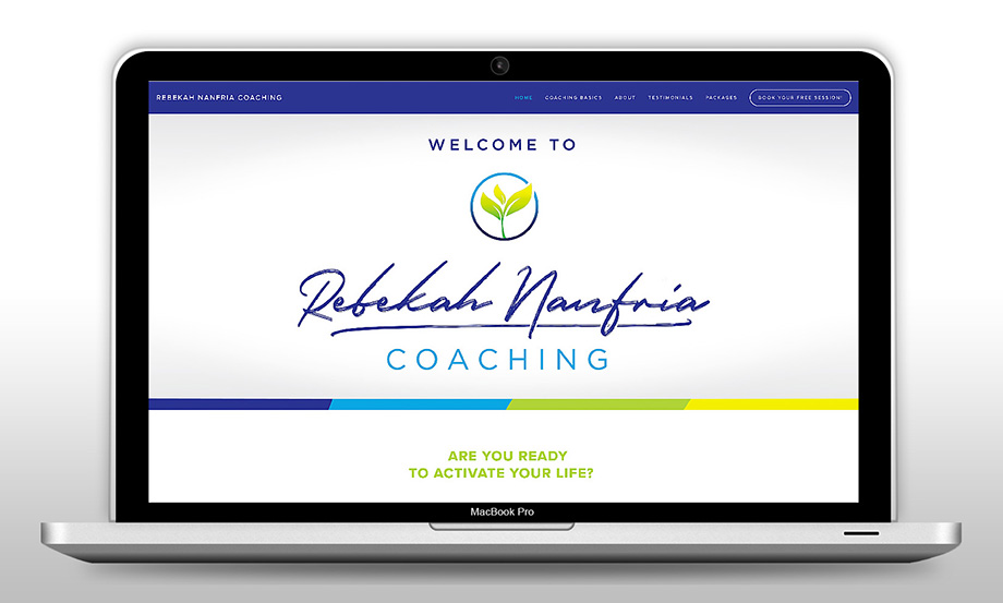 Rebekah Nanfria Coaching - Website Refresh