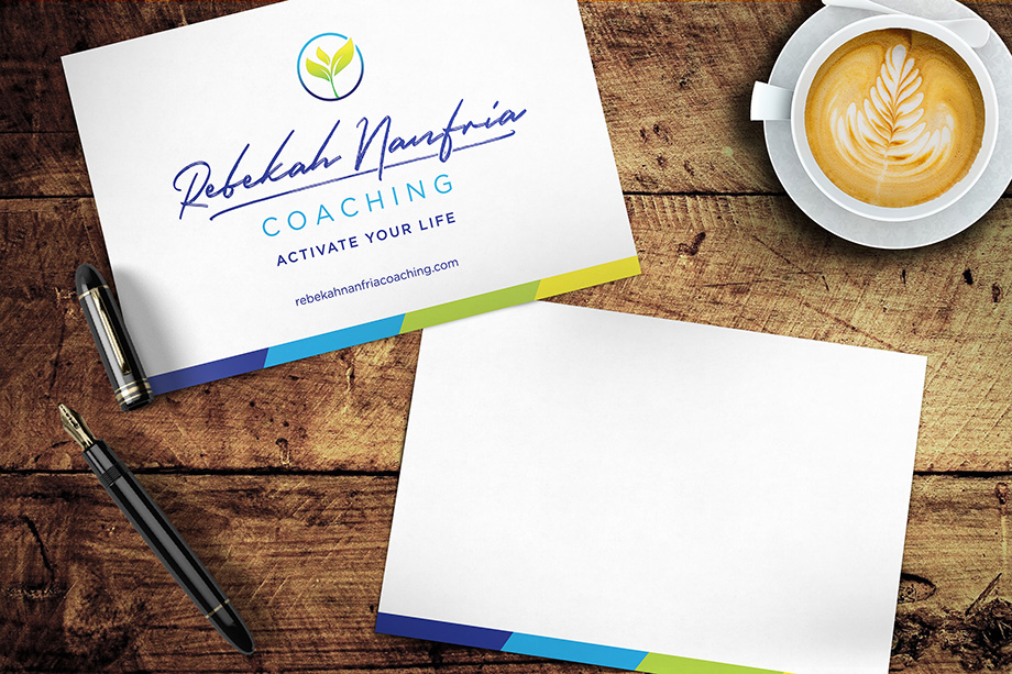 Rebekah Nanfria Coaching - Note Cards