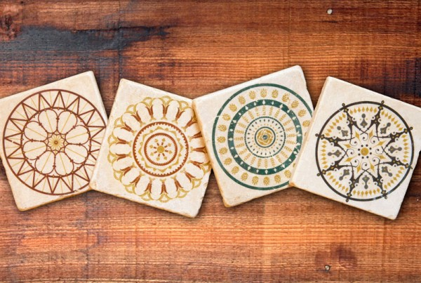 """Cincinnati Architectural Series"" Coaster Set"