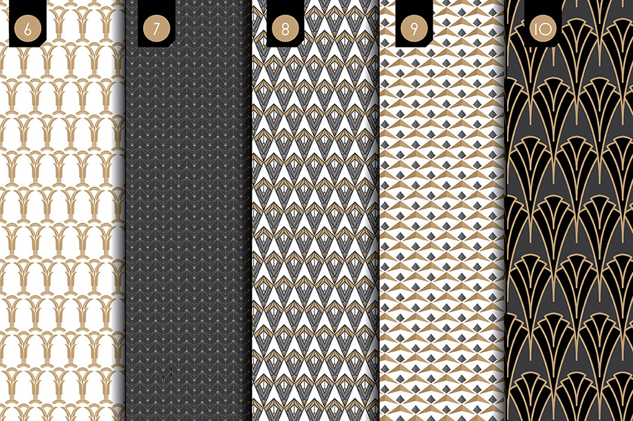 Deco Brushes & Patterns - Vol 2 Slide 3