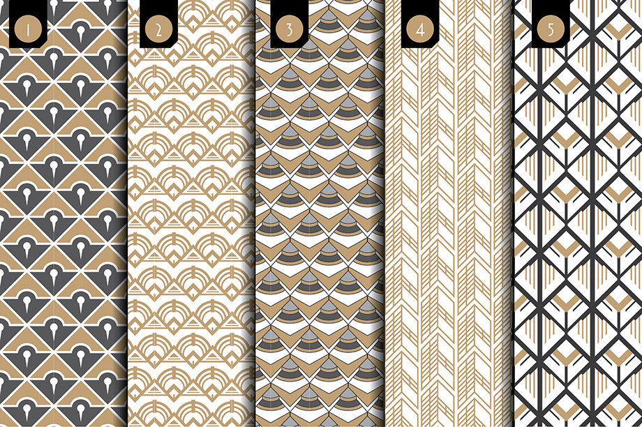 Deco Brushes and Patterns - Creative Market - Slide 2