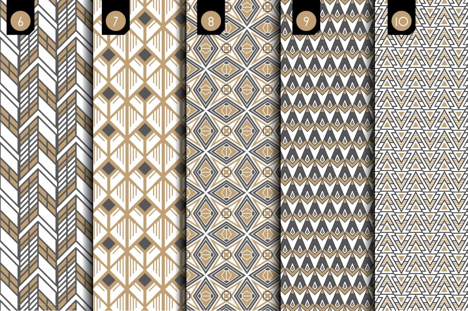 Deco Brushes and Patterns - Creative Market - Slide 3