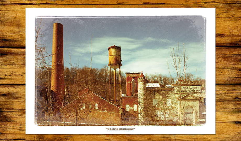 """Old Taylor Distillery Company"" Print"