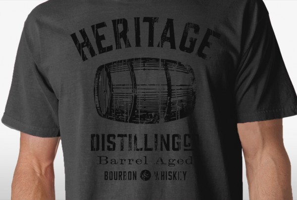 Heritage Distilling Co. Tshirt Crop