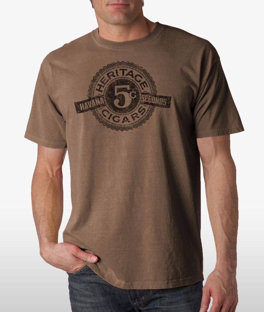 Heritage Cigars Tshirt - Full
