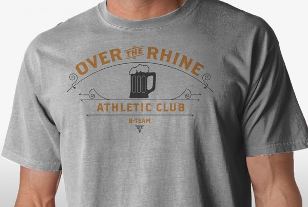 OTR B-Team Athletic Club Tshirt Crop