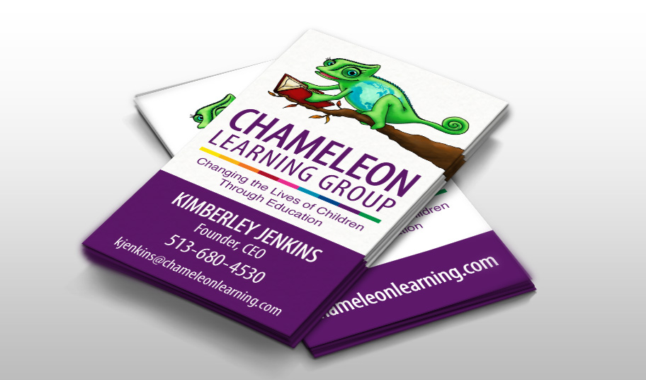Chameleon Learning Group Business Cards