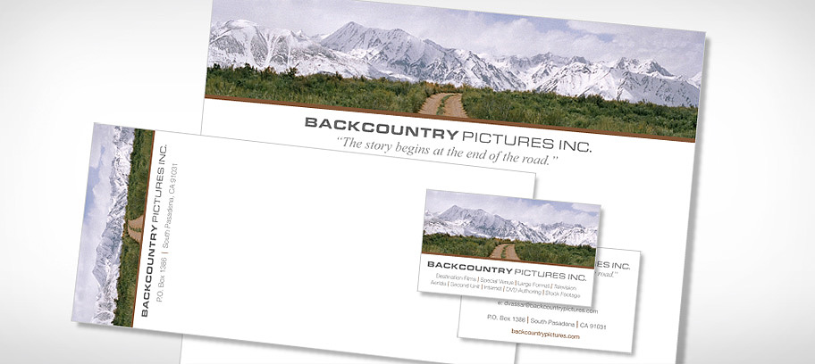 Backcountry Pictures Stationery