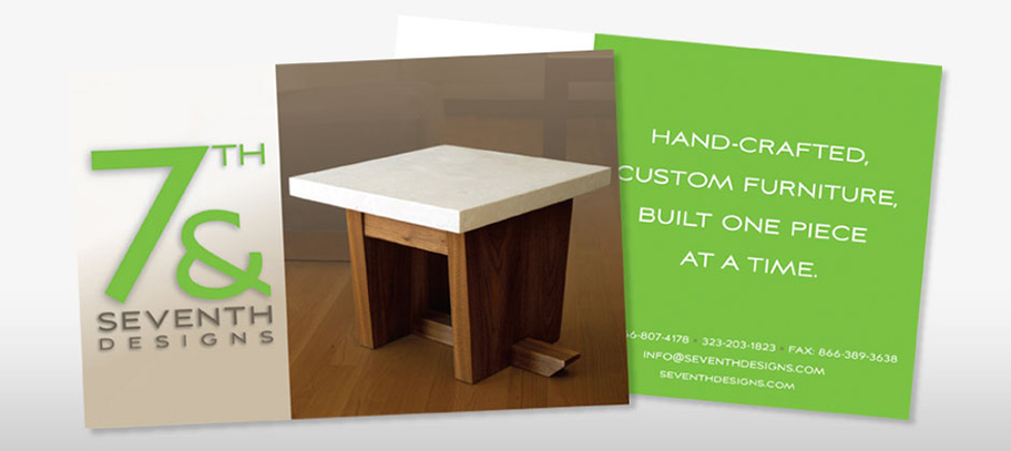 7th & Seventh Designs Postcards