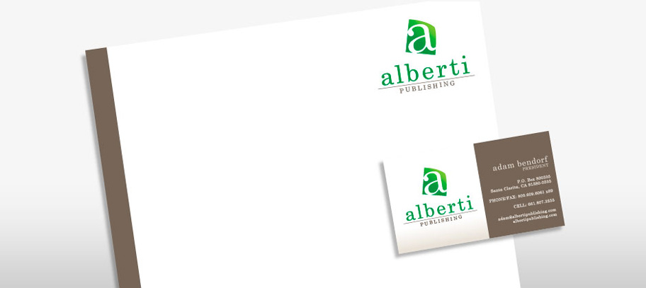 Alberti Publishing Business Cards